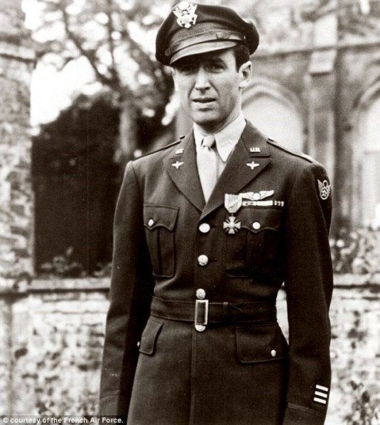 Jimmy Stewart WWII